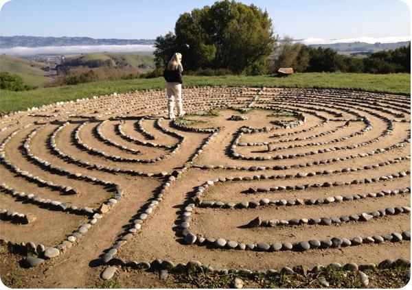 Meditation labyrinth chicago 2014
